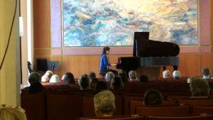 At la salle Debussy du conservatoire de Lyon, France.