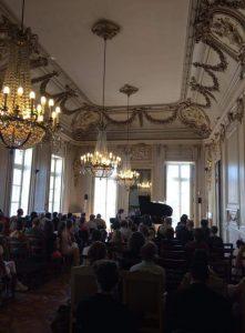 At Le Palais Saint Jean, France.